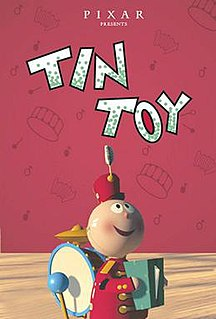 <i>Tin Toy</i> 1988 short film directed by John Lasseter