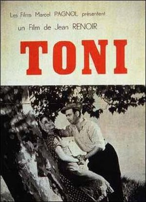 Toni (1935 film) - Original Movie Poster