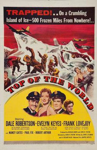 Top of the World (1955 film) - Theatrical release poster
