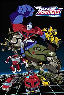 <i>Transformers: Animated</i> 2007–09 TV series