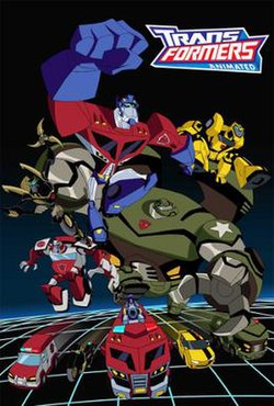 transformers animated wikipedia