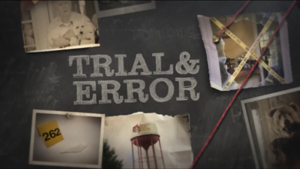 Trial & Error (TV series) - Image: Trial & Error intertitle