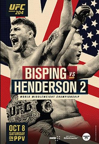 UFC 204 - Image: Ufc 204 poster