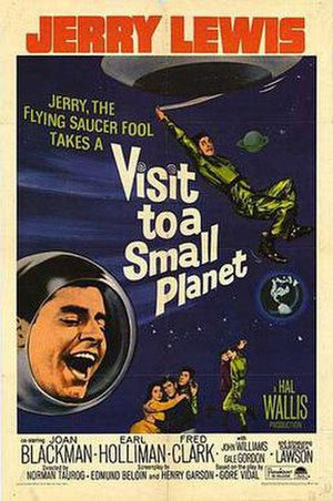 Visit to a Small Planet - Theatrical release poster