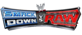 WWE SmackDown vs. Raw Online - The logo for the SmackDown vs. Raw series