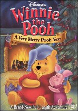 A Very Merry Pooh Year - NTSC DVD cover