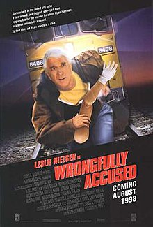 Wrongfully Accused (1998) [English] SL YT - Leslie Nielsen, Richard Crenna, Kelly Le Brock, Melinda McGraw, Michael York