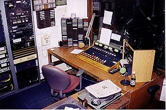 WUWG - WWGC Control Room, 1999