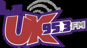 XHUK-FM - Image: XHUK La UK95.3 logo