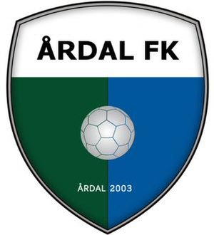 Årdal FK - Logo