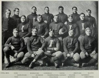 1904 Illinois Fighting Illini football team - Image: 1904 Illinois Fighting Illini football team