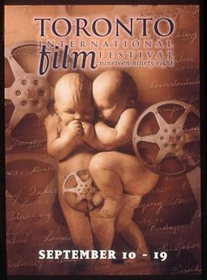 1998 Toronto International Film Festival - Festival poster