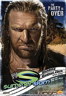 SummerSlam (2007) 2007 World Wrestling Entertainment pay-per-view event