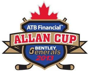 2013 Allan Cup - Image: 2013 Allan Cup