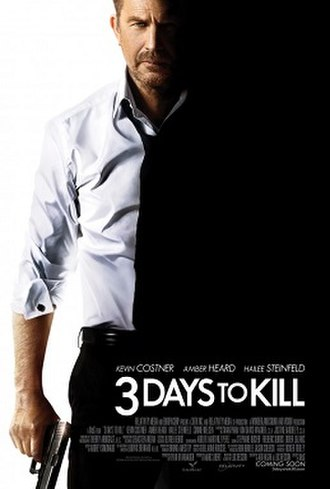 3 Days to Kill - Theatrical release poster