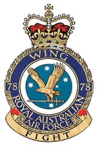 No. 78 Wing RAAF - Image: 78Wing RAAF