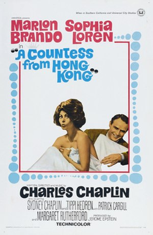 A Countess from Hong Kong - Theatrical release poster