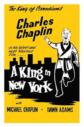 A King in New York - Theatrical release poster