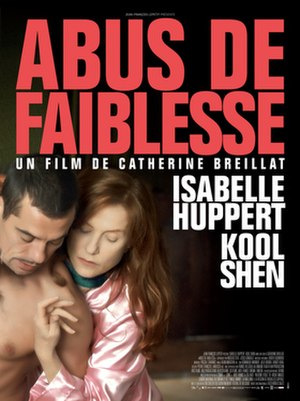 Abuse of Weakness - Film poster