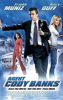 <i>Agent Cody Banks</i> 2003 American action comedy film directed by Harald Zwart