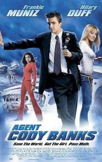 Agent Cody Banks - Theatrical release poster