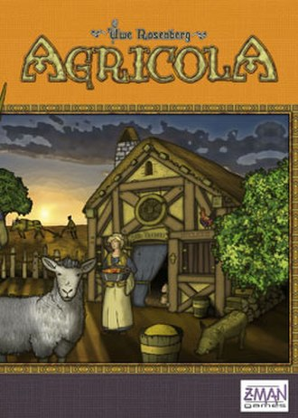 Agricola (board game) - The box cover of Agricola