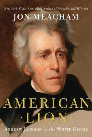 American Lion (book) - Image: American lion by jon meacham cover