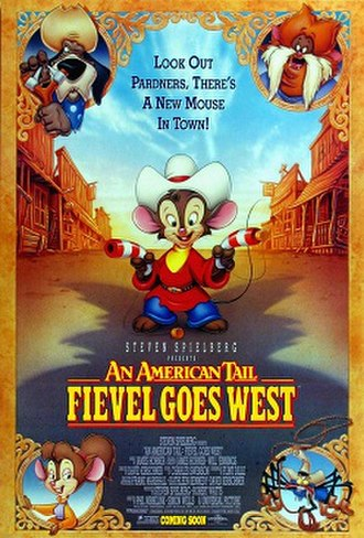 An American Tail: Fievel Goes West - Theatrical release poster