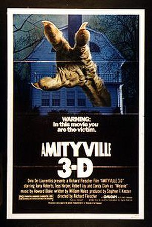 Amityville 3-D - Theatrical release poster
