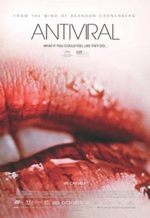 Antiviral (film) - Film poster
