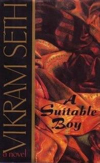 <i>A Suitable Boy</i> 1993 novel by Vikram Seth