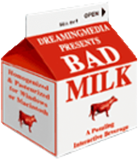 <i>Bad Milk</i> video game released in 2000
