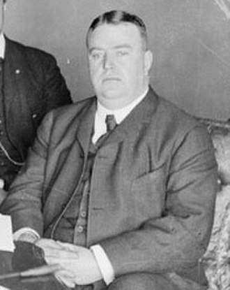 1901 Cleveland Bluebirds season - Ban Johnson, founder of the American League