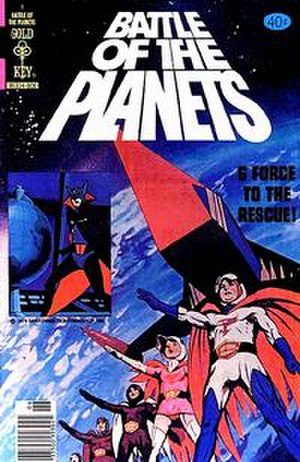 Battle of the Planets (comics) - Image: Battle of the Planets no 1