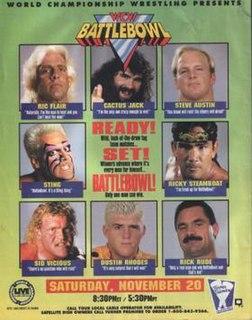 Battlebowl 1993 World Championship Wrestling pay-per-view event