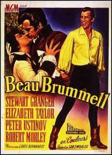 <i>Beau Brummell</i> (1954 film) 1954 film by Curtis Bernhardt