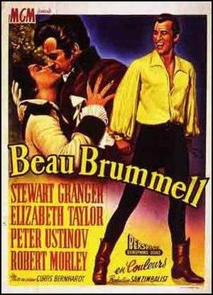 Beau Brummell (film) - Original French film poster