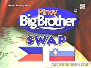 Pinoy Big Brother (season 2) - A screenshot from the show Pinoy Big Brother (season 2) for the Big Swap between Philippines and Slovenia.