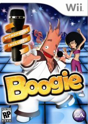 Boogie (video game) - North American Wii cover