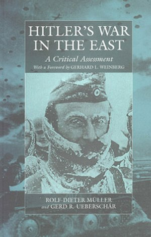 Hitler's War in the East 1941−1945 - Image: Book cover of Hitler's War in the East