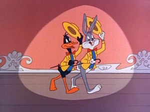The Bugs Bunny Show - Bugs Bunny and Daffy Duck in opening