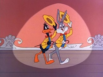 Bugs Bunny - Bugs and Daffy in the intro to The Bugs Bunny Show (1960–2000).
