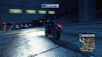 Burnout Paradise - Although initially excluded, Paradise was updated to add time-of-day as well as motorcycles.