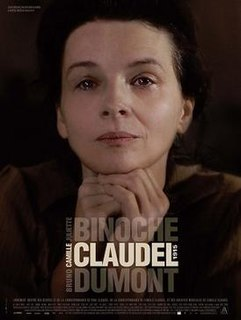<i>Camille Claudel 1915</i> 2013 film