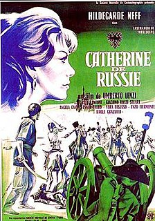 <i>Catherine of Russia</i> (film) 1963 film by Umberto Lenzi