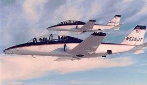 Cessna 526 CitationJet - Both 526 prototypes in flight