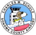 Charles M. Schulz - Sonoma County Airport (logo).png