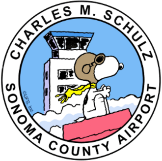 Charles M. Schulz–Sonoma County Airport - Image: Charles M. Schulz Sonoma County Airport (logo)