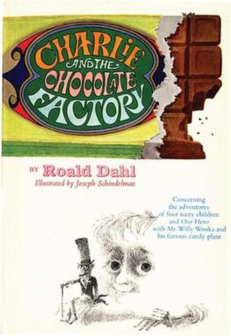 Charlie and the Chocolate Factory - Image: Charlie and the Chocolate Factory original cover