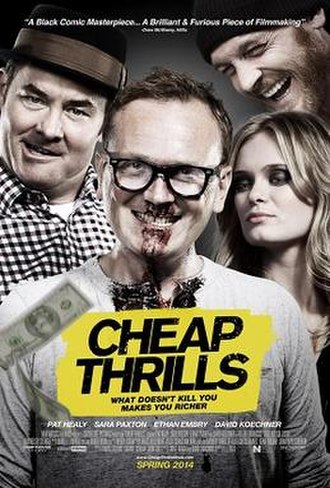 Cheap Thrills (film) - Theatrical release poster